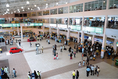 Customs Seize $8.6m Dollars Hidden Inside Bus At Murtala Mohammed Airport