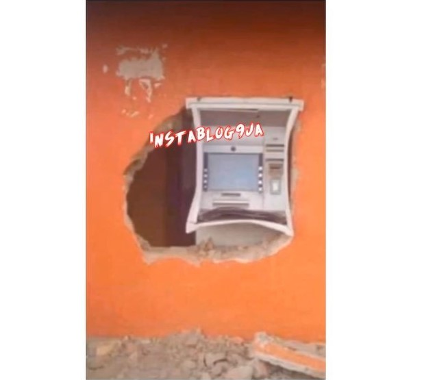 Thieves Burgled ATM Overnight In Osun State (Video)