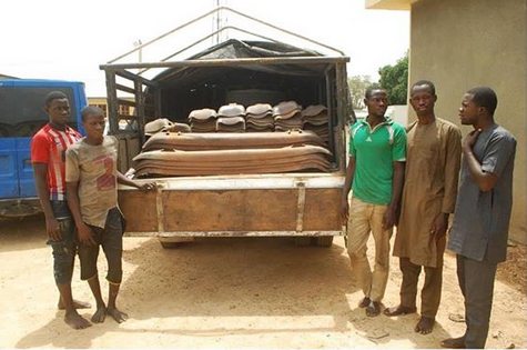Railway Tracks Vandals Nabbed With 168 Pieces Of Sleepers